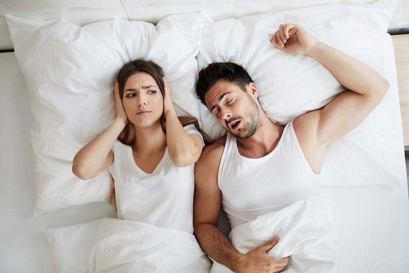 Opmerkelijk (en stom): snurkende mensen hebben minder behoefte aan seks