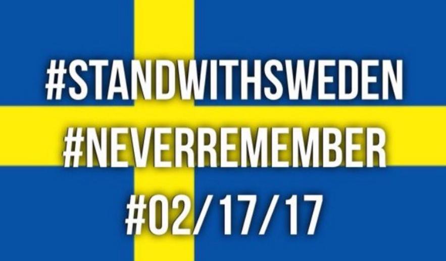 Trump blundert tijdens terrorismebetoog met uitspraak over 'het incident in Zweden'