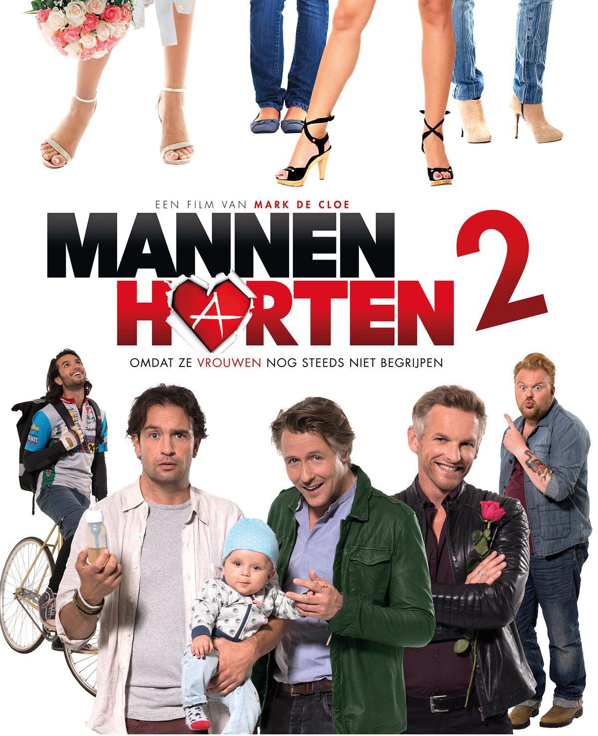 Win bioscoopkaarten voor Mannenharten 2