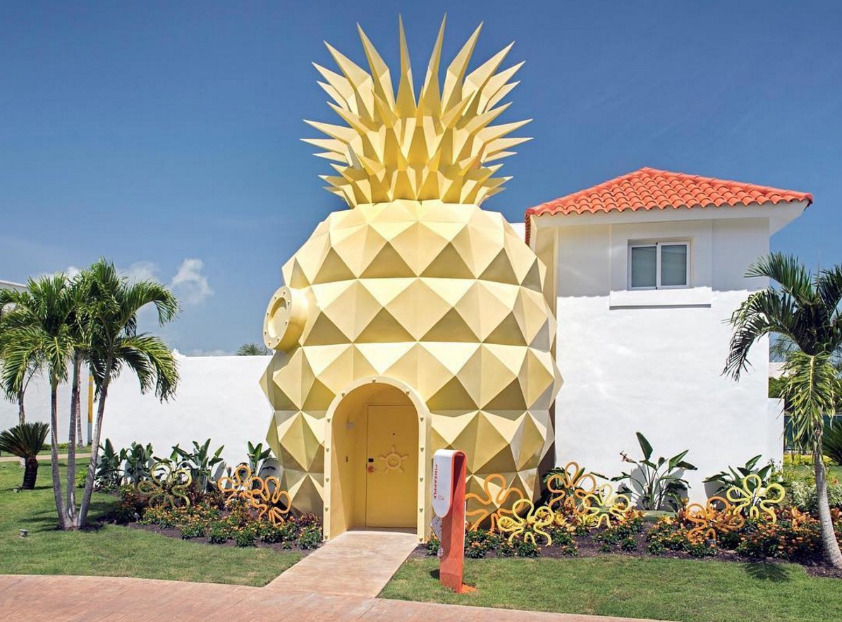 The dream is real: je kunt nu slapen in het ananashuis van Sponge Bob!