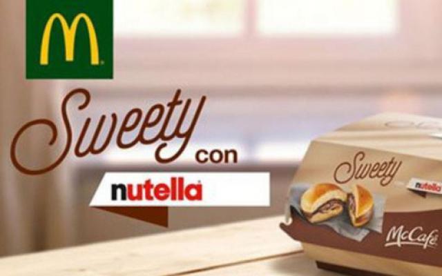 OMG: McDonald's komt met een overheerlijke Nutellaburger!