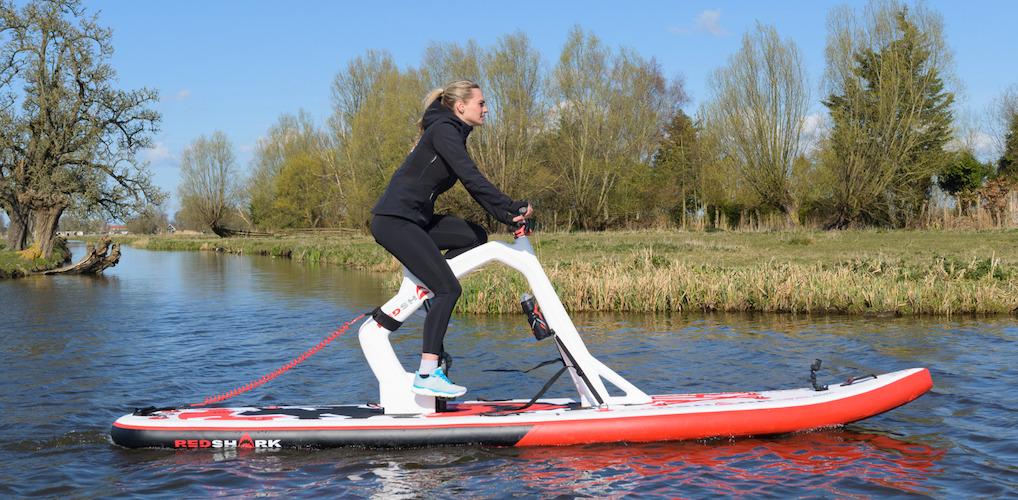 Fit met VIVA: fietsen op het water met de SUP bike