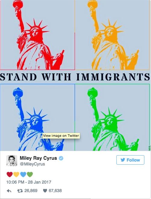 Dit vinden de celebs van Trumps 'moslimban'