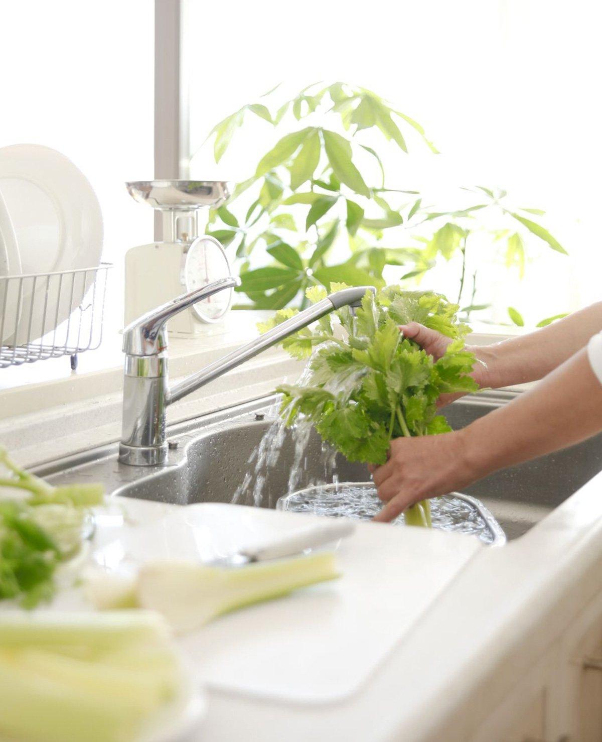 Waarom je groente en fruit MOET wassen voor je het eet