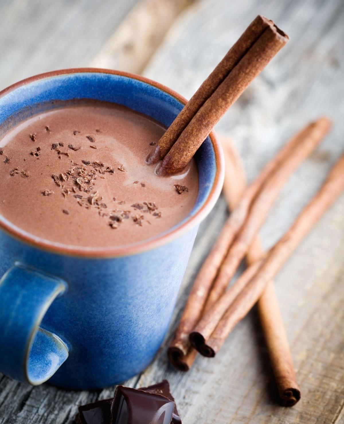Warme chocolademelk op z'n Mexicaans