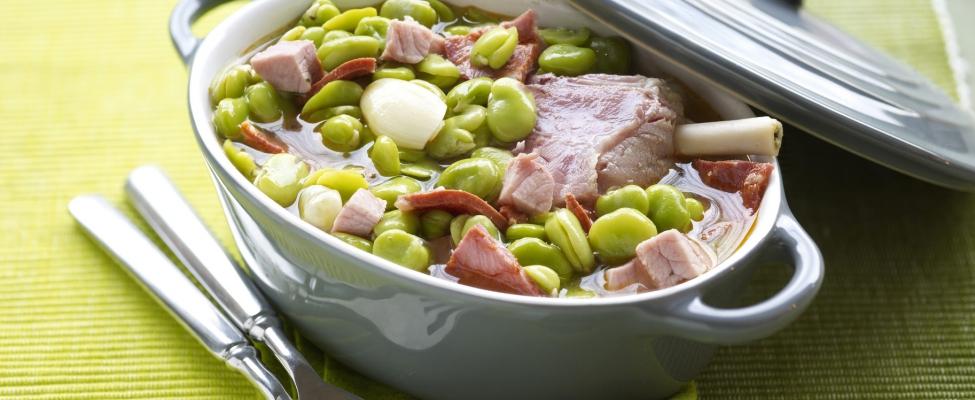 Recept: Herfststoofpotje met bonen en ham