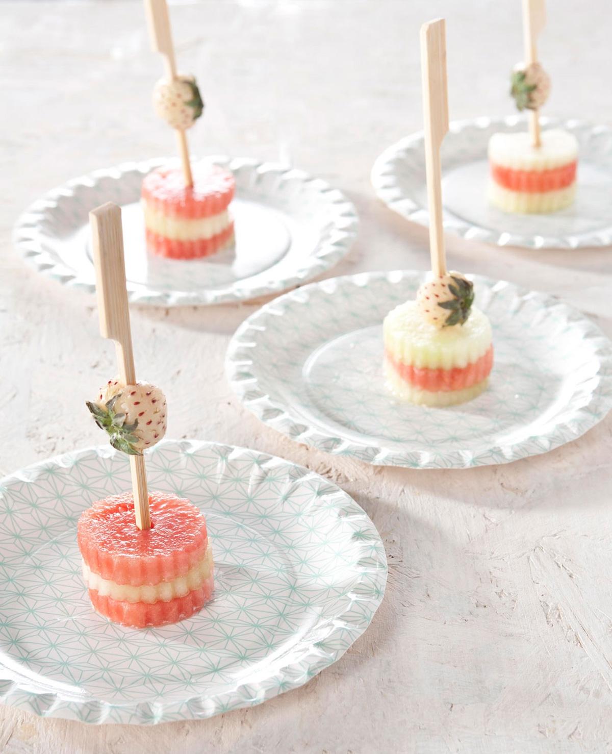 Traktatietip: Meloen torentjes