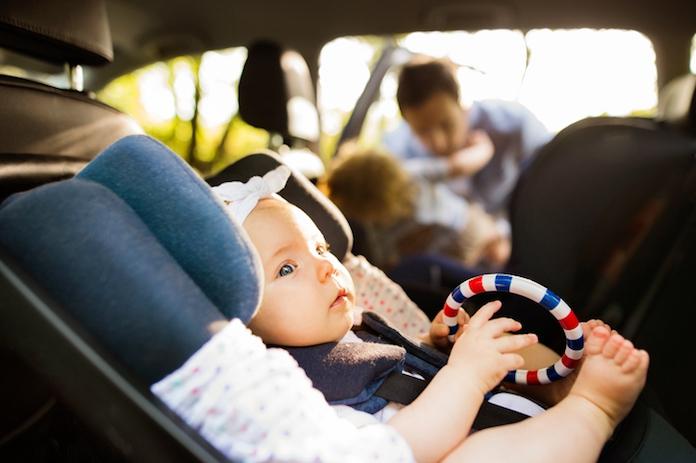 'Nieuwe functie in déze auto voorkomt achterlaten van kind op snikhete dag'