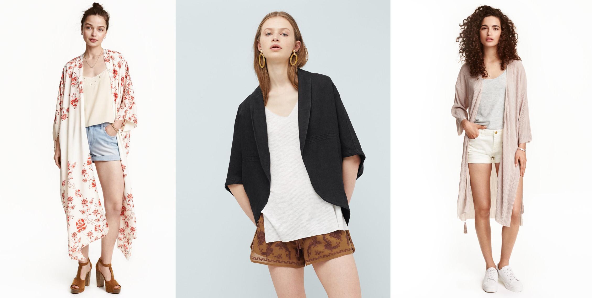 Shoppen: 9x een zomerse kimono