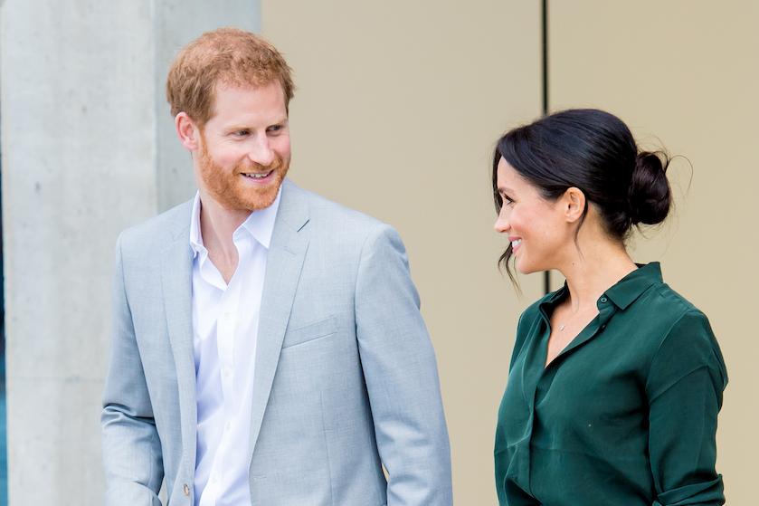 Zó lief: prins Harry deelt videoboodschap na geboorte eerste kindje