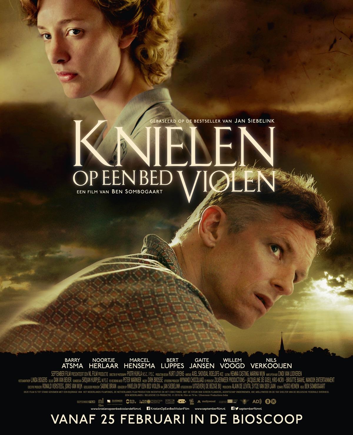 Win bioscoopkaarten voor 'Knielen op een bed violen'