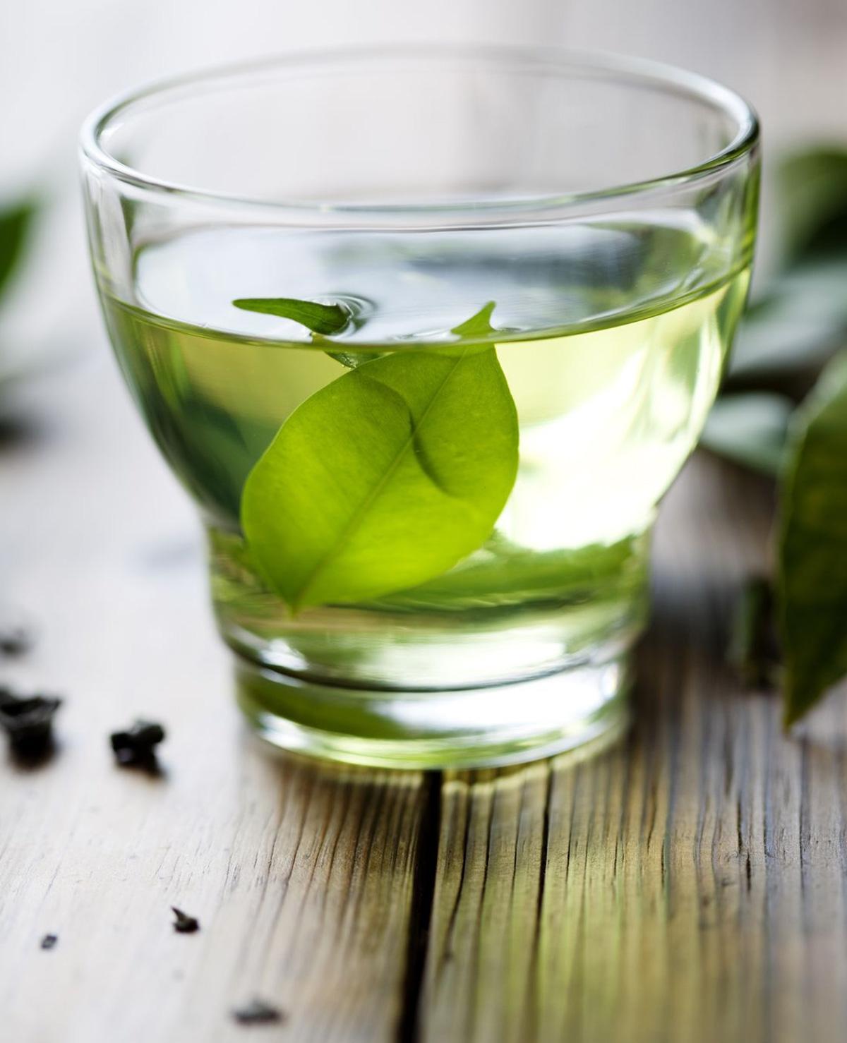 Fit door groene thee