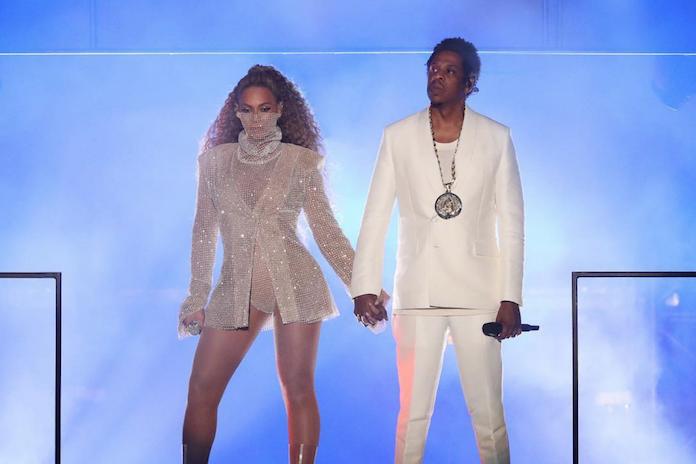 Beyoncé en Jay Z delen nieuwe foto's van tweeling tijdens eerste OTR2-concert