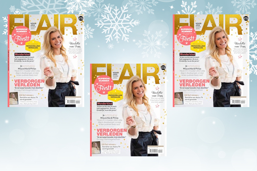 Flair's Adventskalender #19: Win 5x een halfjaar abonnement op Flair