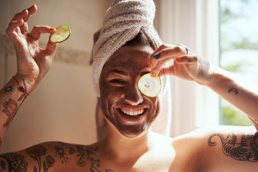 Moet je proberen: een gezichtsbehandeling met bevroren komkommer