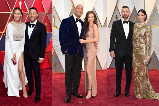 CUTE: Deze koppels schitterden tijdens de uitreiking van de Oscars