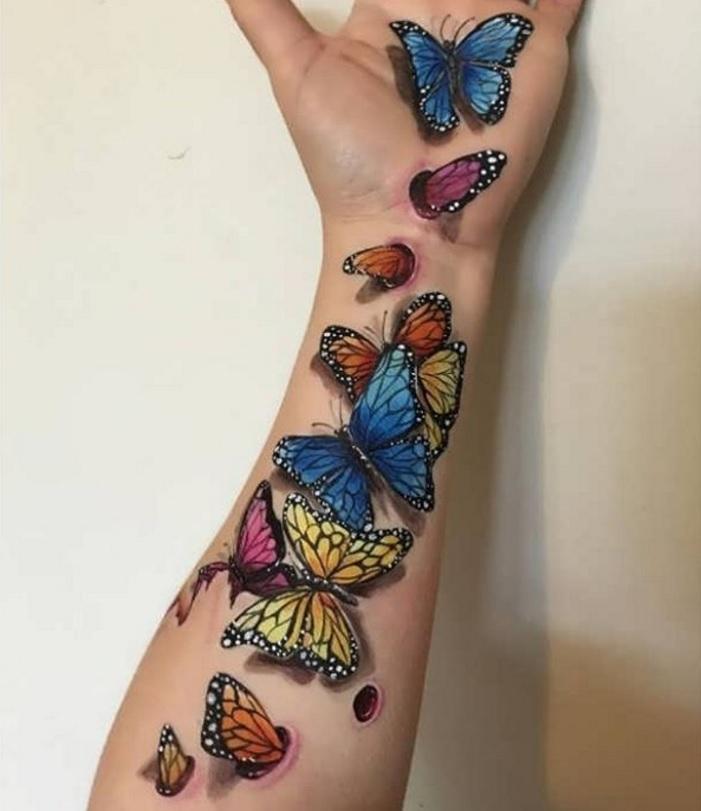 Zien: 3D-tattoos die je helemaal van je stuk gaan brengen