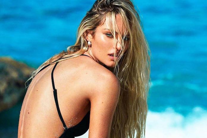 Pas bevallen Victoria's Secret Angel haalt uit naar bodyshamers
