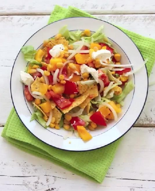Mexicaanse salade: zo maak je het!
