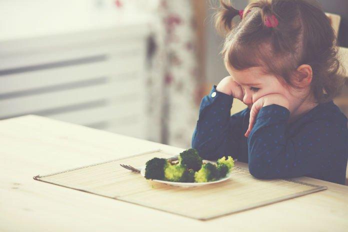 Herkenbaar voor alle ouders (en opa's en oma's): moeilijke eters