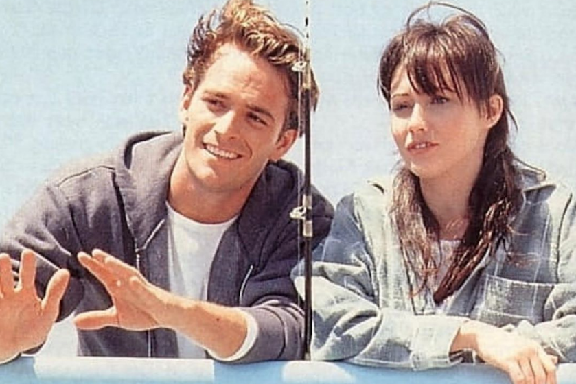 '90210'-collega Shannen Doherty speelt emotionele rol in 'Riverdale'-ode Luke Perry
