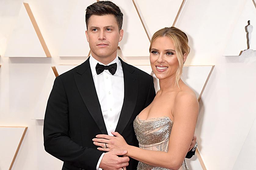 'Scarlett Johansson en haar man Colin Jost verwachten eerste kindje'