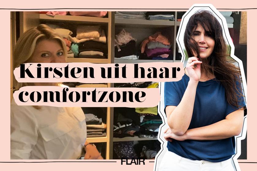 Flair TV: styliste Lonneke Nooteboom creëert overzicht in de kledingkast van Kirsten Schilder (én deelt tips!)