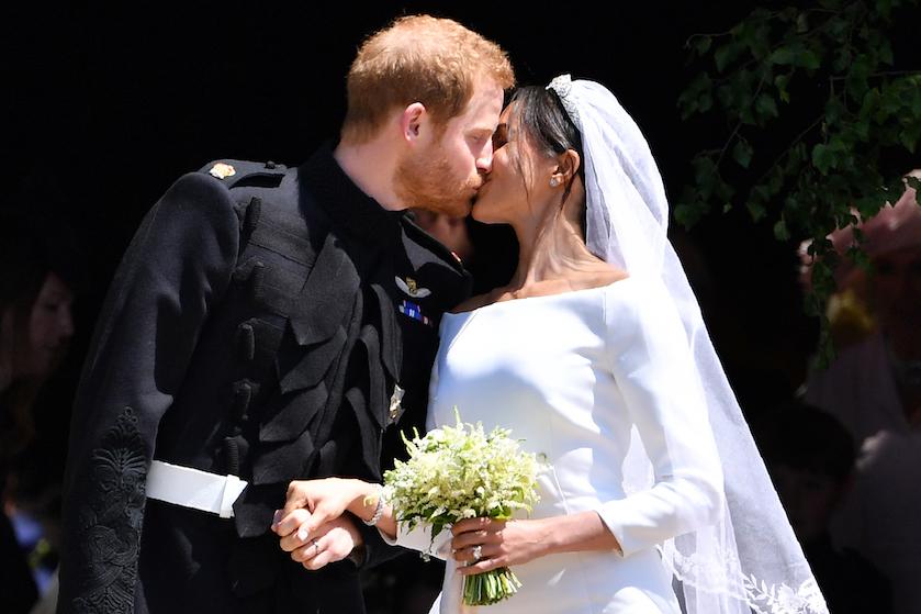 Terugblik: Prins Harry en Meghan Markle vandaag precies één jaar geleden getrouwd