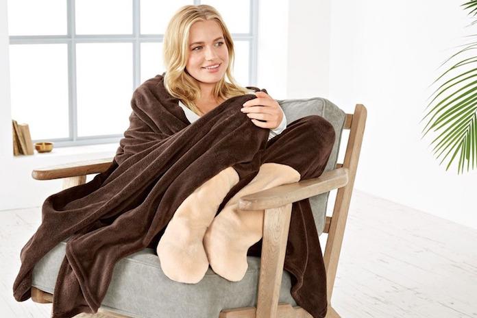 Dankzij dit heerlijke dekentje van Lidl heb je nooit meer koude voeten