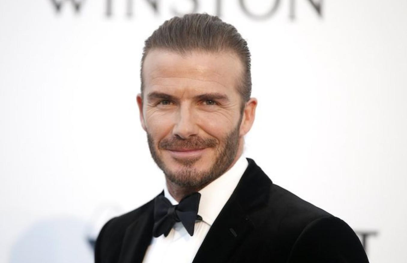 David Beckham: 'Ik kus al mijn kinderen op de lippen'
