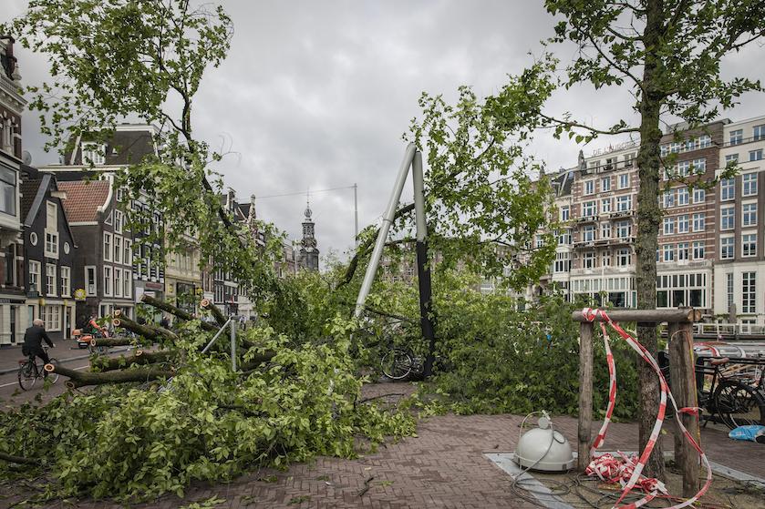 Op tijd naar huis: later vandaag weer code oranje wegens noodweer