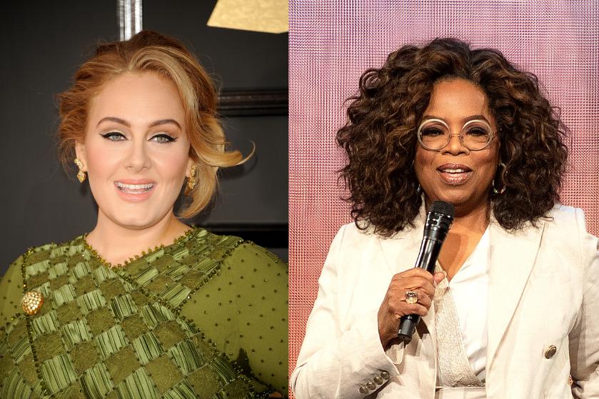 Adele bij Oprah eerlijk over haar scheiding, zoontje en de kilo's die ze is verloren