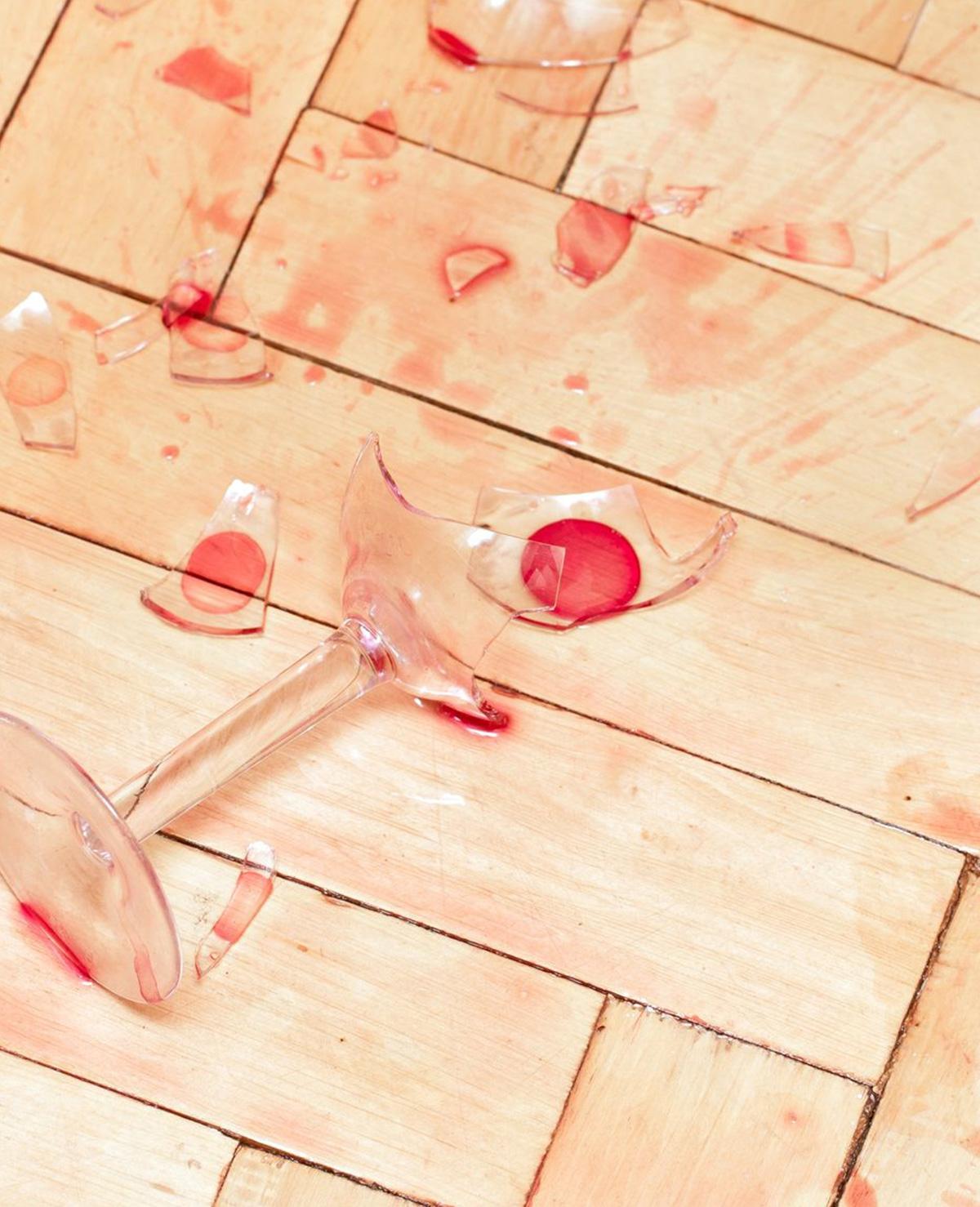 Gebroken glas opruimen (trucje!)