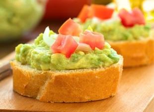 Gezonde toast met avocado