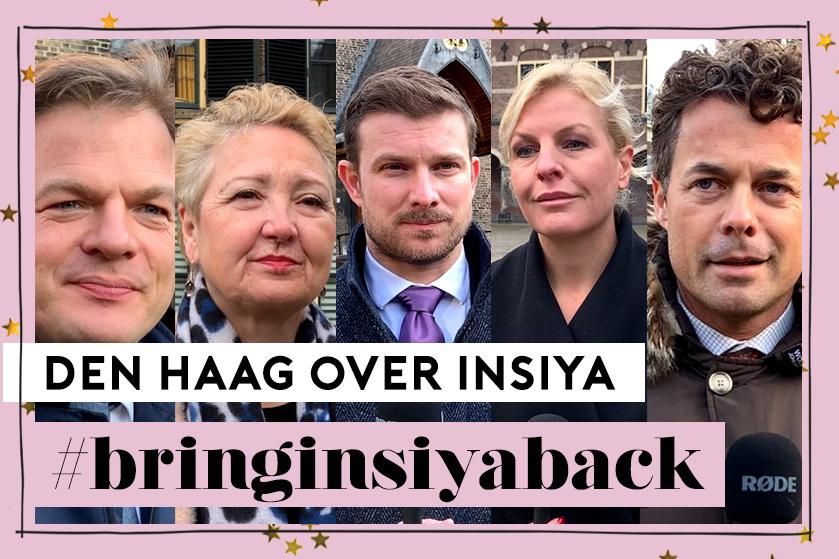 Politici willen dat Insiya zo snel mogelijk herenigd wordt met moeder: 'Alle zeilen moeten worden bijgezet'