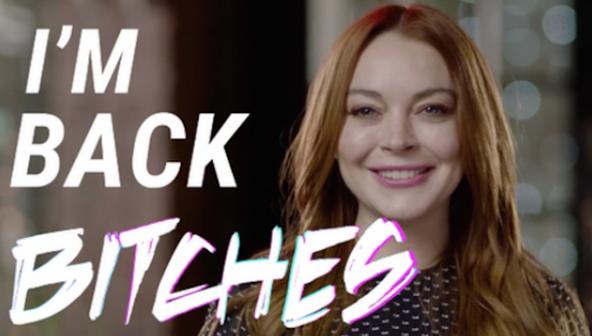 Celebs YAY: Lindsay Lohan lanceert een trailer voor haar nieuwe tv-show