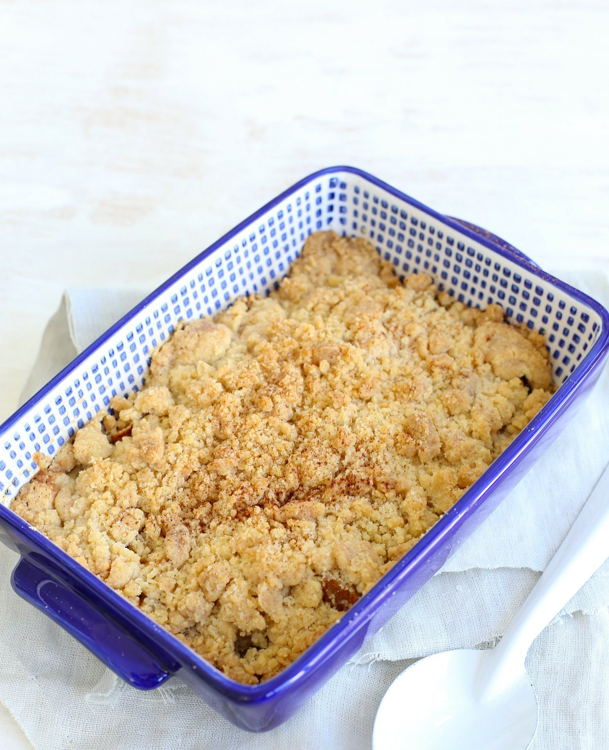 Appel-ananas crumble