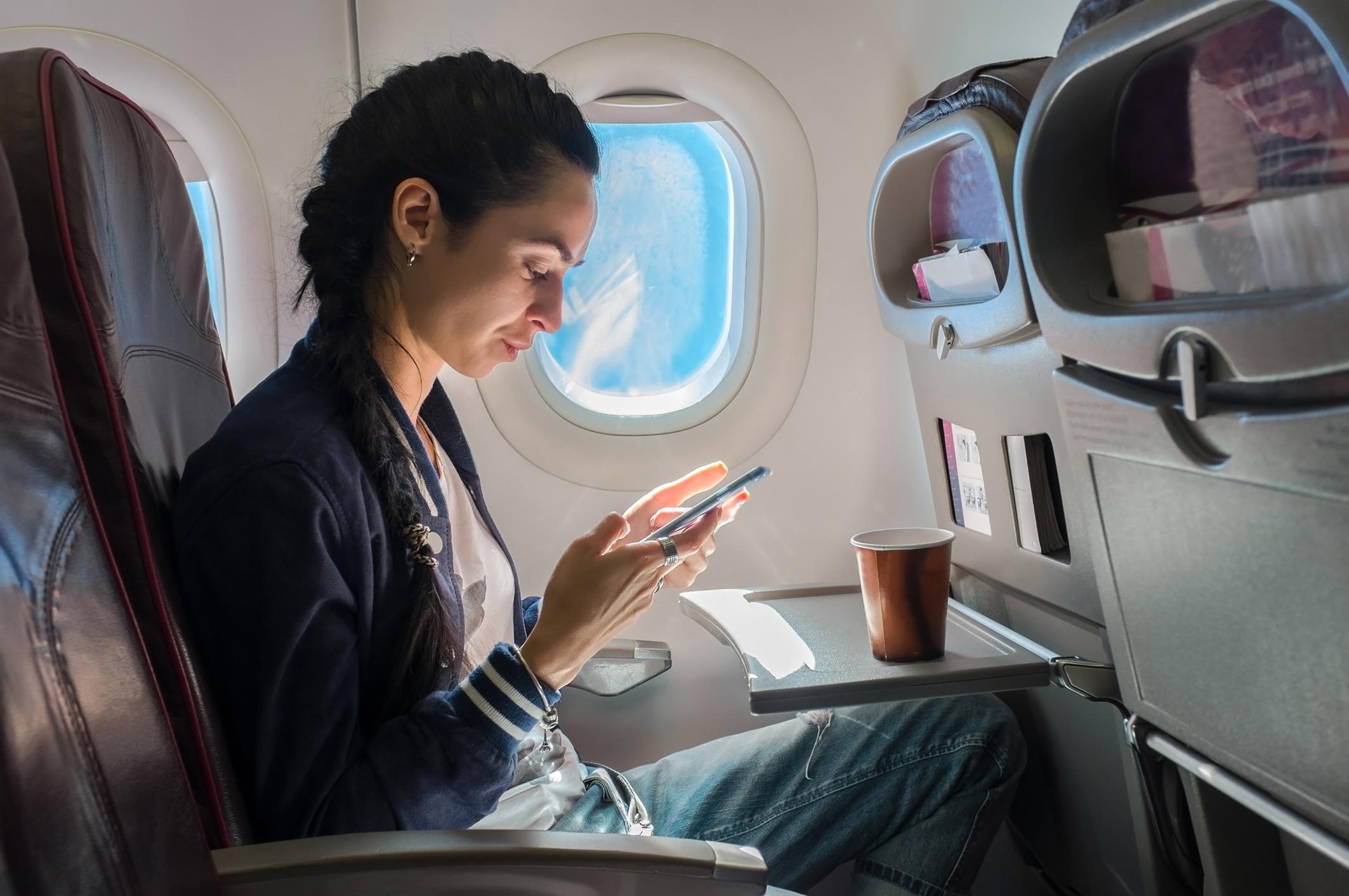 Flirten op het vliegtuig? Dat kan dankzij deze app