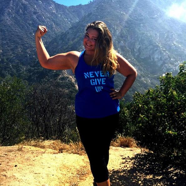 Zien: vrouw showt gewichtsverlies in 365 selfies