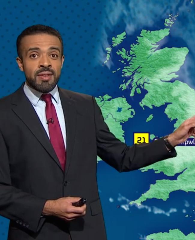 Britse weerman spreekt bizarre plaatsnaam briljant uit