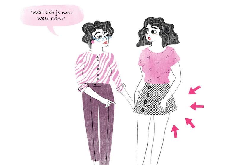 Een ingewikkelde moeder-dochterrelatie: 'Als ik bij haar ben, voel ik zoveel irritatie'
