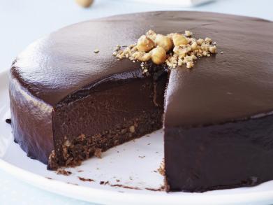 Recept: driedubbele chocoladetaart