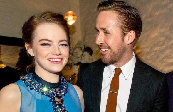 Emma Stone en Ryan Gosling op Walk Of Fame!