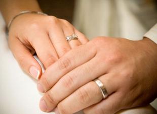 Als de bruid van huis is… Pin mee!