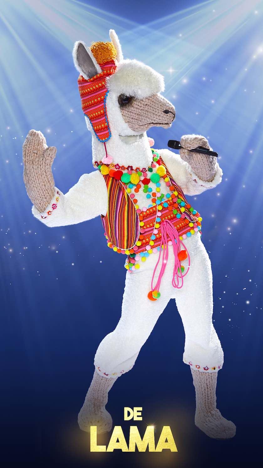 the masked singer lama