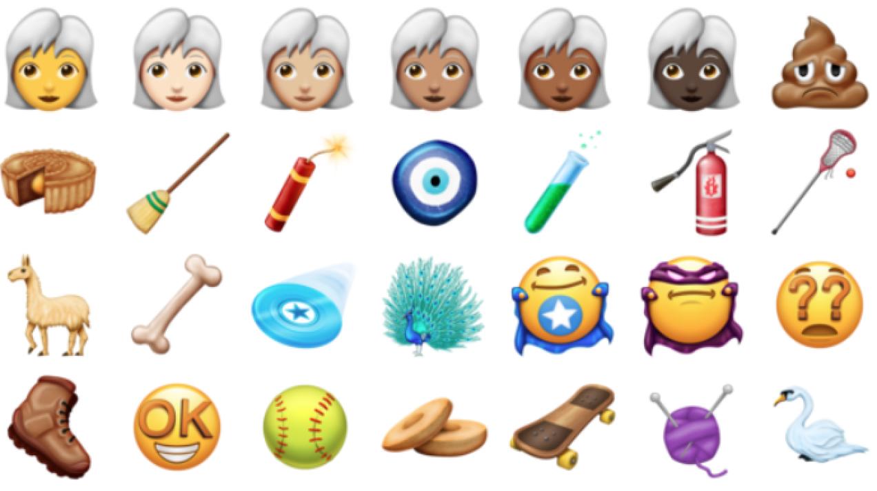Cupcakes en lama's: dít zijn de nieuwe emoji van 2018