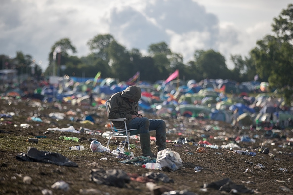 Clear-Up Begins After The Glastonbury Festival