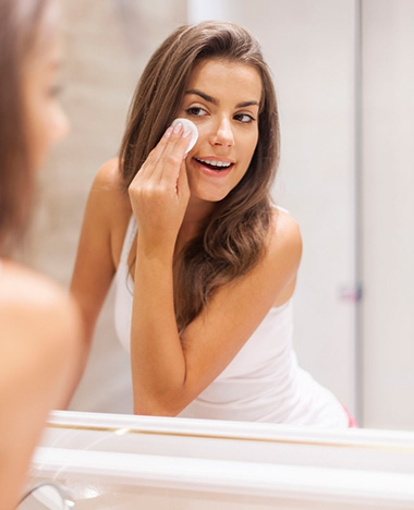 Voorkom dat de spiegel beslaat, de tip!