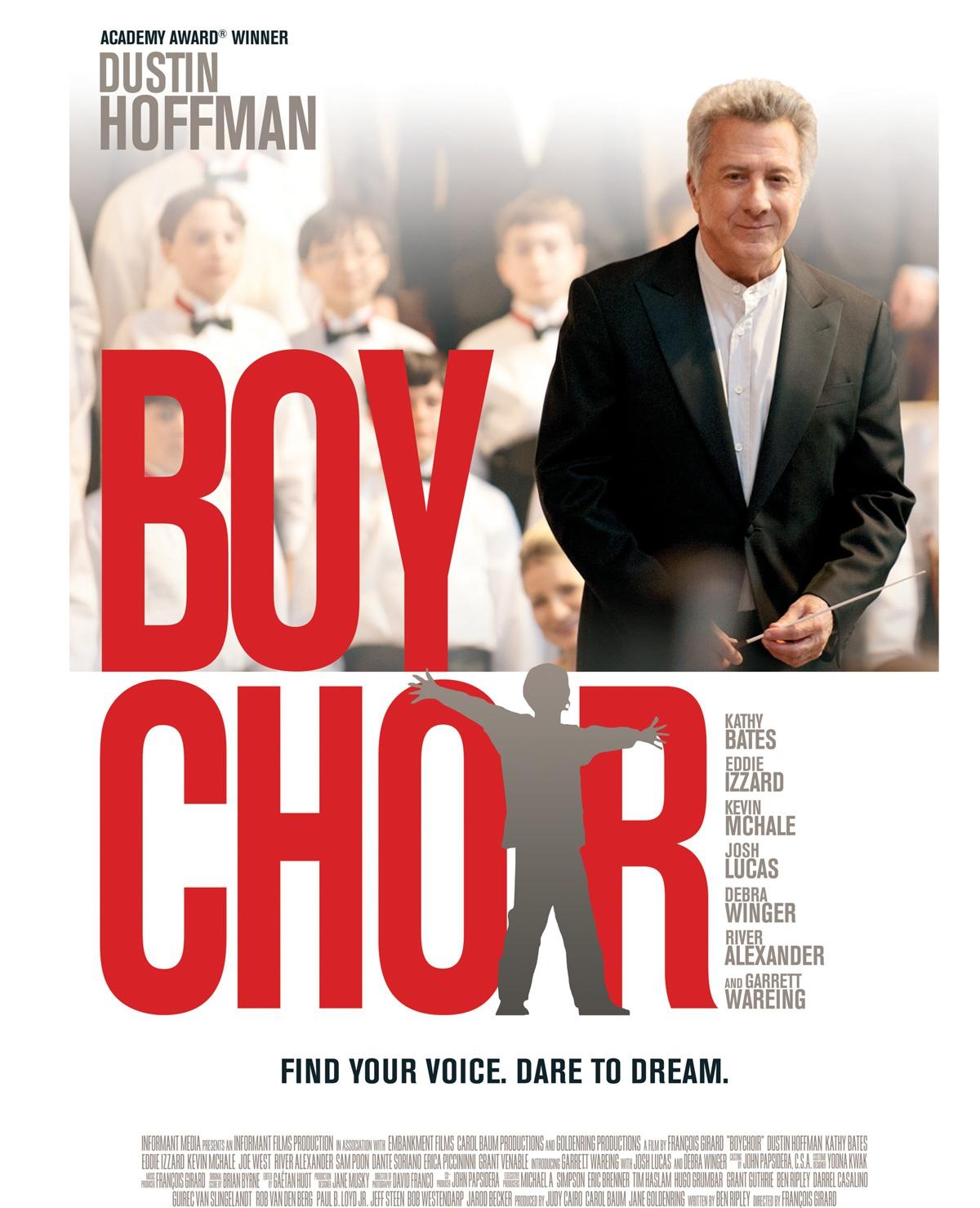 Win bioscoopkaarten voor Boychoir