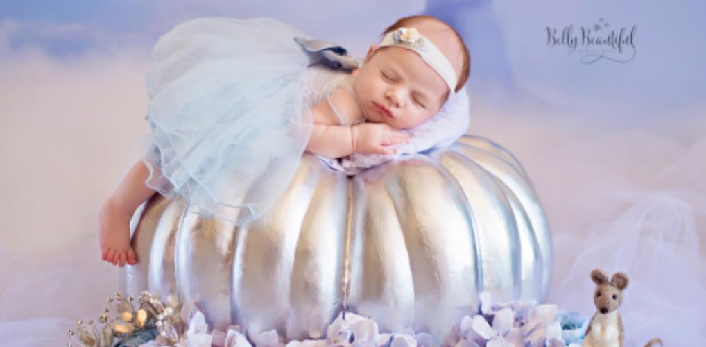 Te cute: deze baby's zijn omgetoverd in Disney prinsessen